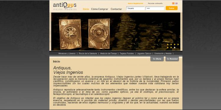 Web Antiquus