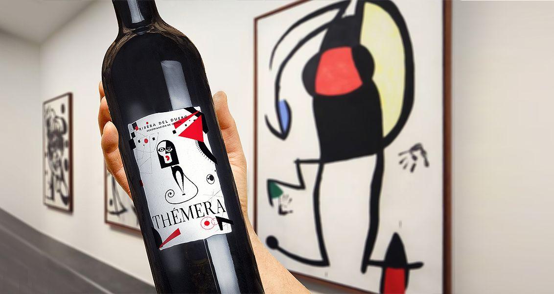 Dise o etiqueta de vinos th mera for Diseno de etiquetas