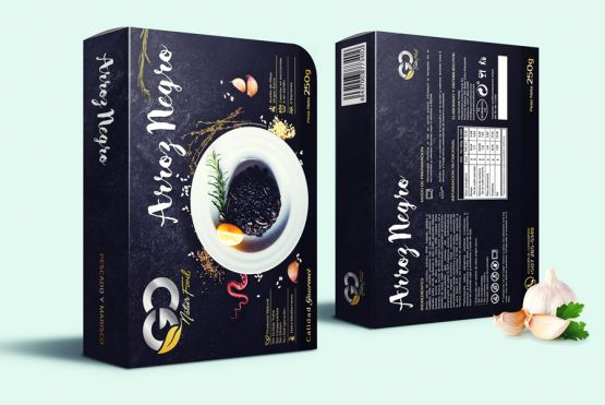Foto principal Packaging Arroz Negro